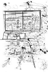 Marikit Santiago's drawing, with help from Maella, 5, Santiago, 4, and Sarita, 1.