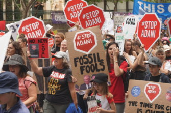 The Adani project has attracted widespread public opposition.
