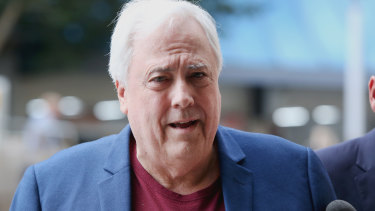 Clive Palmer has announced his Palmer United Party will contest every seat at the next federal election.