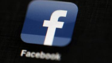 The Facebook icon