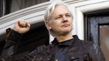 Awaiting a verdict: WikiLeaks founder Julian Assange.
