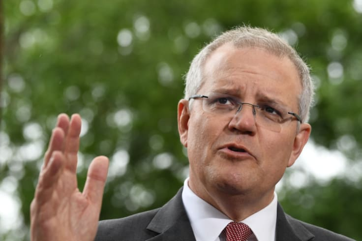 """Scott Morrison has waved the dire warnings away saying """"We'll meet our [Paris] targets in a canter."""""""