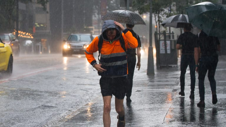 Brisbane is expecting heavy rain across the weekend.