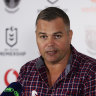 Seibold calls in police, lawyers over rumours as Pangai jnr faces sack