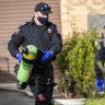 Terror concerns after police raids uncover potential bomb-making materials