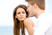 woman listening to man. sealer date. dating generic. Photo: Shutterstock