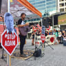 Anti-Adani protesters defy council, police in last-ditch action before election