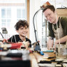 The 12-year-old and his mate battling chuck-out culture, one repair at a time