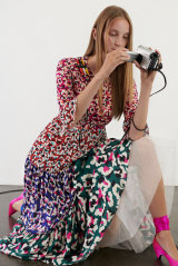 A dress from Mary Katrantzou's collection for The Outnet.
