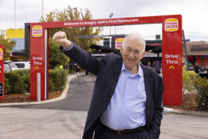 Mr Cowin is a fast-food king in Australia as the biggest shareholder in Hungry Jacks and a 26.6 per cent stake in Domino's Pizza.