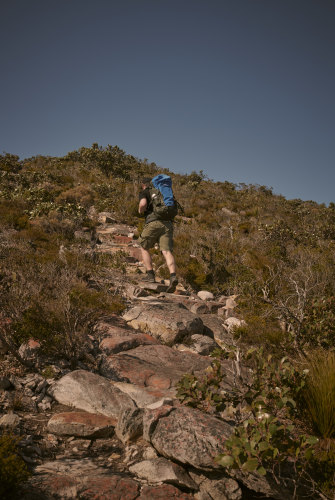 A hike in the Grampians.