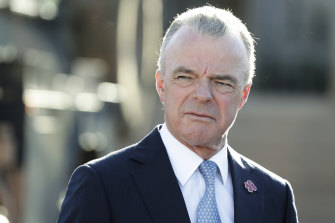 Australian War Memorial director Dr Brendan Nelson. Where does the memorial stop, and the museum begin?
