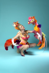 Serious about big costumes and even bigger props? Imogen will host a 'Going Big' performance workshop on Sunday.