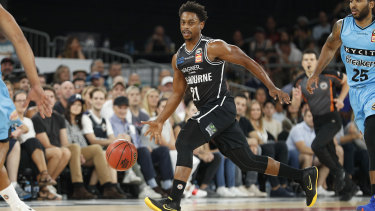 Casper Ware was electric against the Breakers in game one of the semi-finals.