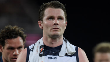 Geelong Cats star Patrick Dangerfield in doubt for AFLX