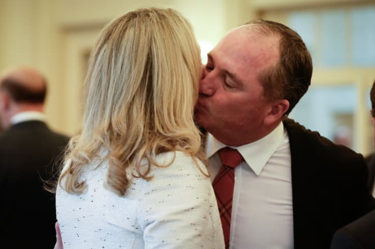 An anti-Nationals group is rising and wants Barnaby Joyce gone