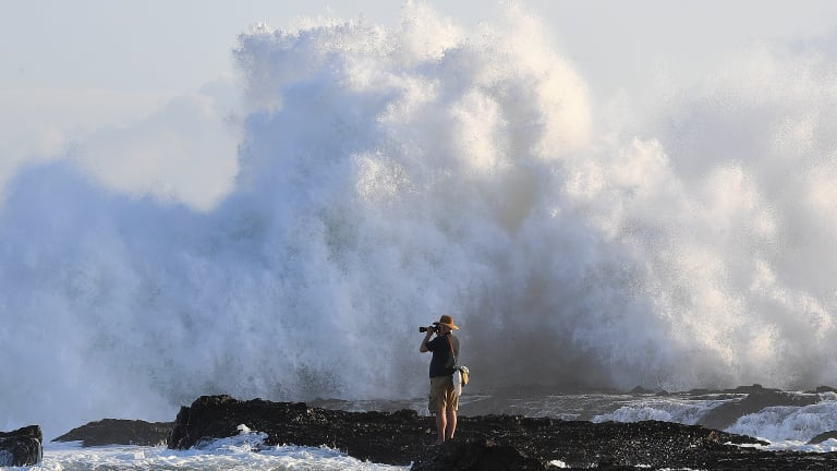 Big swells are expected along the Queensland coast.