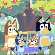 Hit Brisbane-made children's show Bluey has been nominated for an Emmy