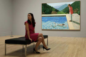 $123.7 million for David Hockney painting shatters record