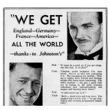 Having a radio set to listen to world broadcasts was a major selling point in the 1930s.