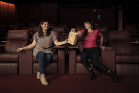 """""""Even in films like Once Were Warriors or Whale Rider, we're in those stories but they're not necessarily told from our perspectives"""": Ainsley Gardiner and Briar Grace-Smith who co-directed Cousins."""