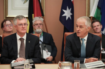 Mr Parkinson was restored to the public service when Mr Turnbull became prime minister.