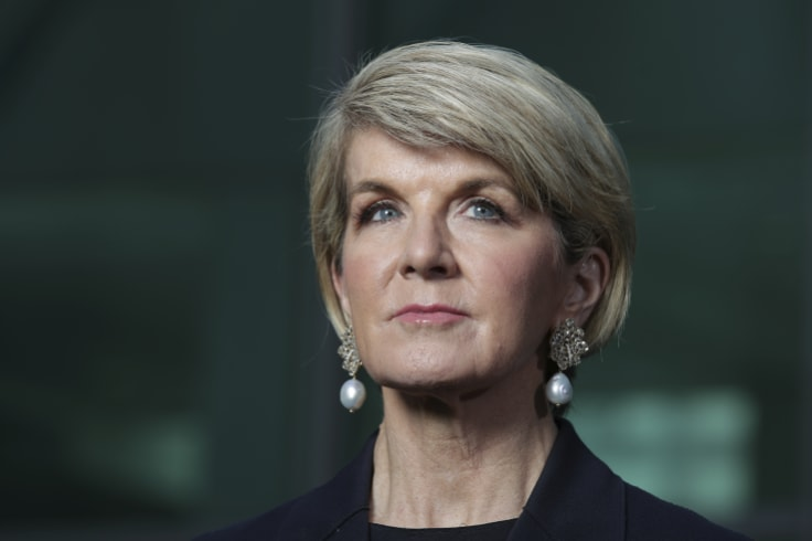 Former foreign minister Julie Bishop said the government unanimously endorsed Australia's contribution to the Paris agreement.