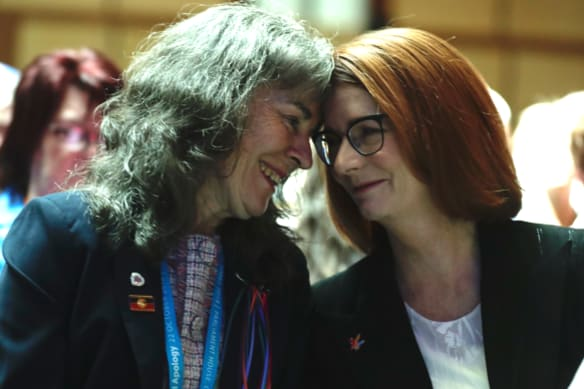 Of all the politicians, Julia Gillard was the only one survivors really wanted
