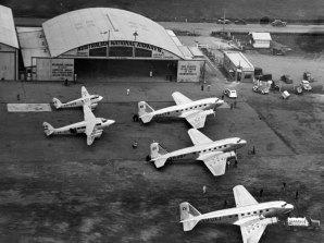 Shortstop's Essendon airport hangar served as national airline ANA's hangar in 1934.