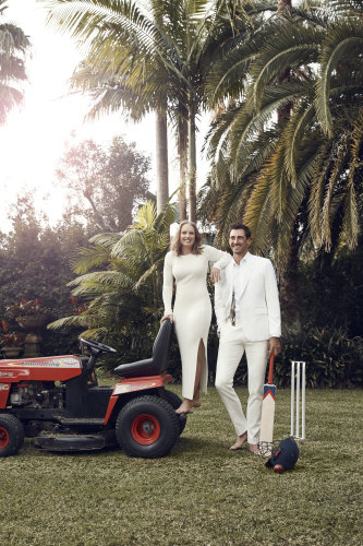 The couple are very competitive – and not just with cricket. The annual Stealy Cup is a golfing award they devised themselves in which the duo compete against each other.