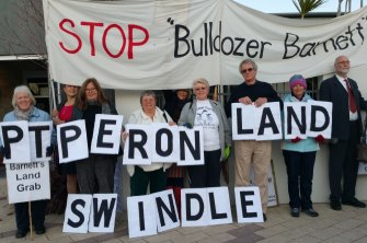 Residents battled to save Crown land, classified Bush Forever, in Point Peron from being developed into a canal housing estate.