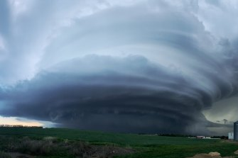 A tornado they are calling the Imperial Mothership in Imperial, Nebraska.