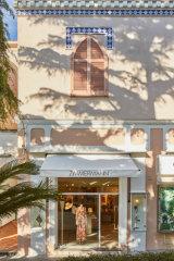 The Zimmermann store in Capri.