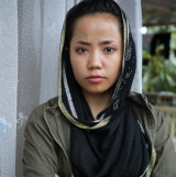 Farahnaz Salehi, 20, who has been in Indonesia for five years.