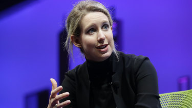 Theranos CEO Elizabeth Holmes. The SEC said the Theranos story was an important lesson for Silicon Valley.