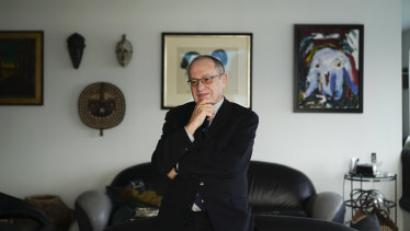 Alan Dershowitz is famed as a lion of the American left.