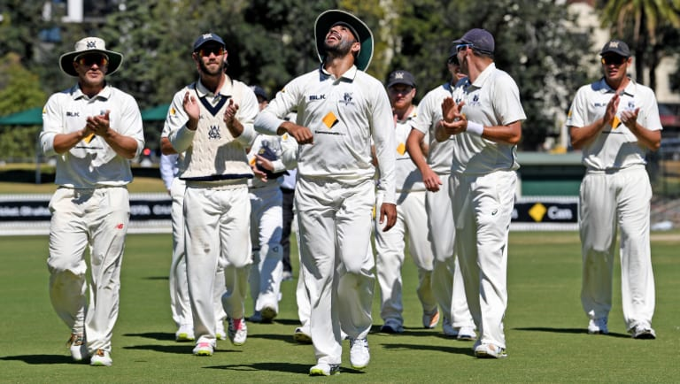 Victoria defeated New South Wales by 23 runs.