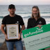 Gold Coast whale rescuer Django Hopkins donates the money raised through a GoFundMe to pay his fines that never came, to Sea Shepherd.