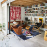 An old inner-Sydney repair shop is transformed into an eclectic home
