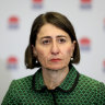 """NSW Premier Gladys Berejiklian said pork barreling was not illegal and was """"unfortunately"""" common practice."""