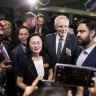 China's activities in key marginal seat affect Labor, Liberal candidates