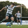 Warringah skipper has announced he will retire from rugby after Saturday's Shute Shield final.