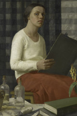 Nora Heysen, A portrait study (self-portrait),1933.