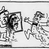 Ron Tandberg cartoon published in The Age on August 20, 1986.