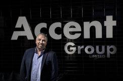 Accent Group CEO Daniel Agostinelli.