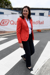 Ms Palaszczuk said the extra stations would add more than 3100 peak-hour seats for commuters.