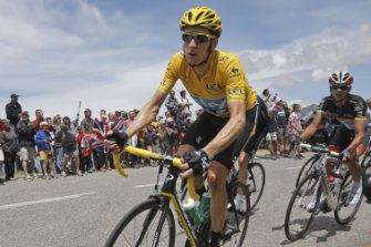 Vicious cycle: Bradley Wiggins.