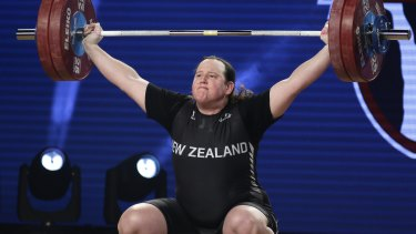 Green light: New Zealand's Laurel Hubbard will be allowed to compete at the Gold Coast Commonwealth Games.