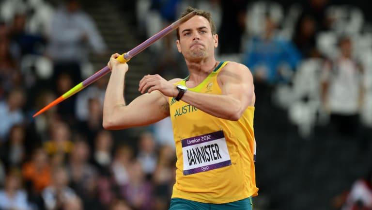 Australian javelin thrower Jarrod Bannister.