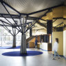 Arts centre foyer transformed into urban park